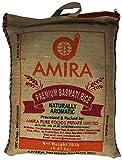 AMIRA Premium Basmati Rice Jute, 20 Pound