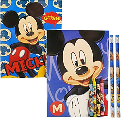 Disney Mickey Mouse Coloring Books (2 Books): Toys & Games