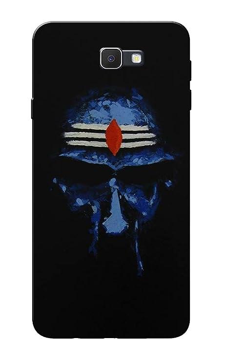 Caseria Jay Mahakal Black Slim Fit Hard Case Cover For Amazonin