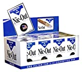 Nic-Out Cigarette Filters For Smokers, 30 Filters