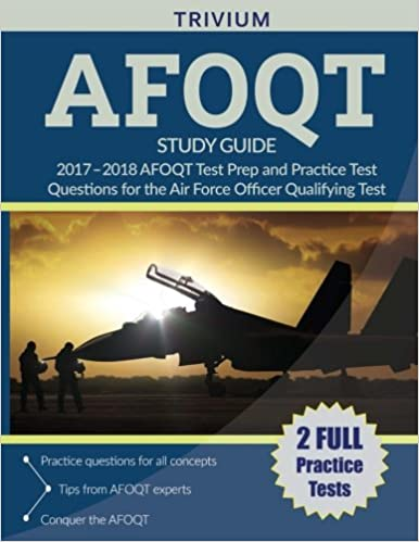 Amazon afoqt study guide 2017 2018 afoqt test prep and amazon afoqt study guide 2017 2018 afoqt test prep and practice test questions for the air force officer qualifying test 9781635301045 afoqt study fandeluxe Gallery