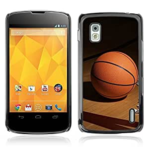 Graphic4You Basketball Game Sports Theme Design Hard Case Cover for LG Nexus 4