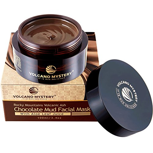 Rocky Mountains Volcanic Ash Chocolate Facial Mud Mask with Aloe Leaf Juice (Volcanic Mud)