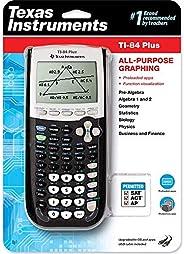 Calculadora gráfica Texas Instruments TI-84 Plus, preta