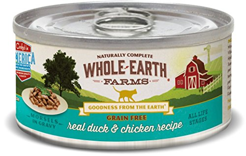 Whole Earth Farms Grain Free Real Morsels in Gravy Duck & Ch