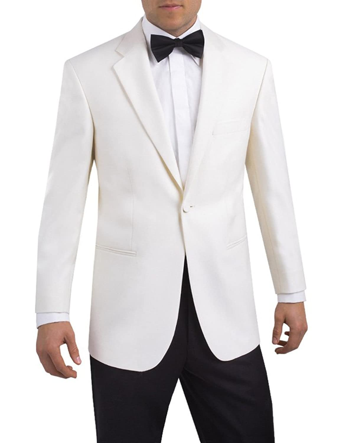 White Tuxedo Jacket Notch Lapel - White tie & Formal Events