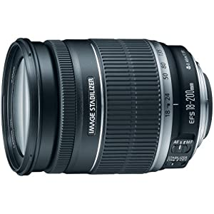 Best Epic Trends 51d2UJvePiL._SS300_ Canon EF-S 18-200mm f/3.5-5.6 IS Standard Zoom Lens for Canon DSLR Cameras