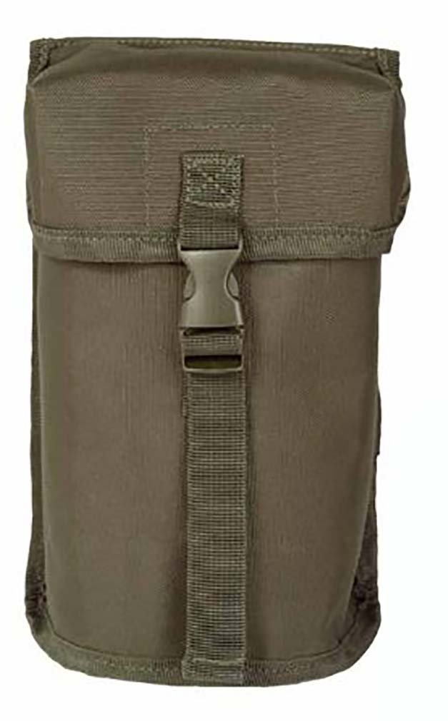 Mil-Tec Canteen Pouch British Style Olive by CamoOutdoor   B005MYAQNA