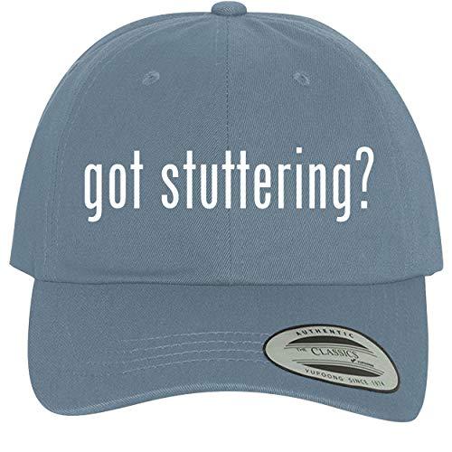 got Stuttering? - Comfortable Dad Hat Baseball Cap, Light Blue