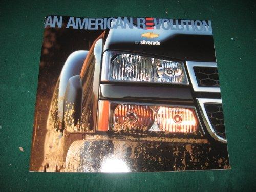 2005 Chevy Silverado Pickup Dealer Sales Brochure with CD