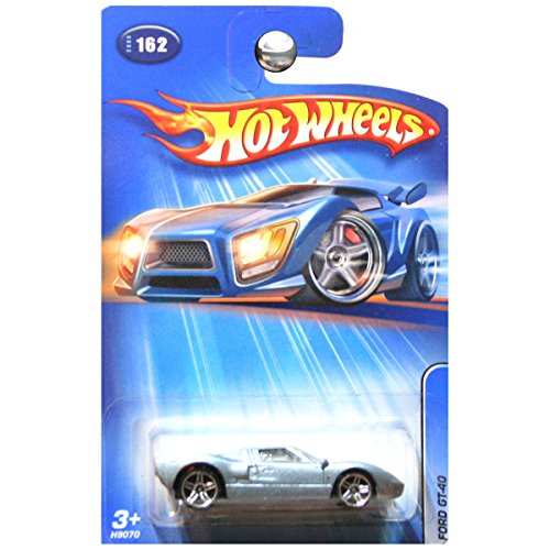 Hot Wheels 2005 #162 Ford GT GT-40 GT40 Light Blue Metallic
