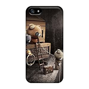 Lauragroff03 Perfect Tpu Case For Iphone 5/5s/ Anti-scratch Protector Case (attic Bears)