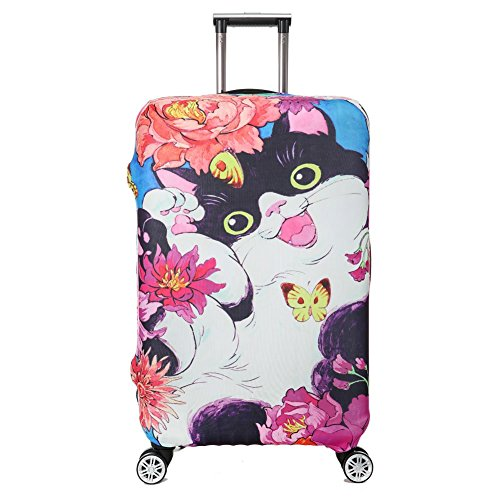 Colorpole Artistic Luggage Protective Suitcase product image