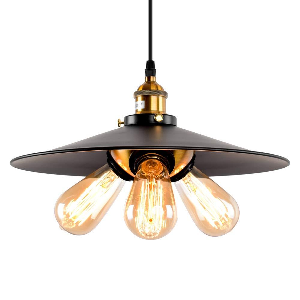 Oyi retro industrial pendant light 3 lights kitchen pendant