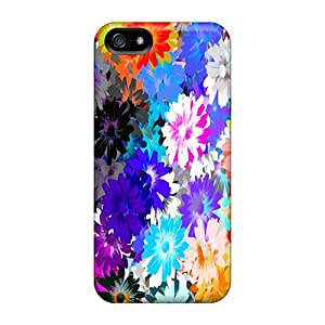 New Premium CbQ35114OPSM Cases Covers For Iphone 5/5s/ Flower Design Protective Cases Covers