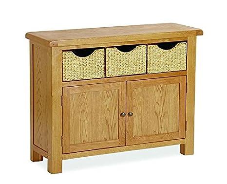 Credenza Con Cesti : Basket weave by pine oak warehouse cestino intrecciato credenza