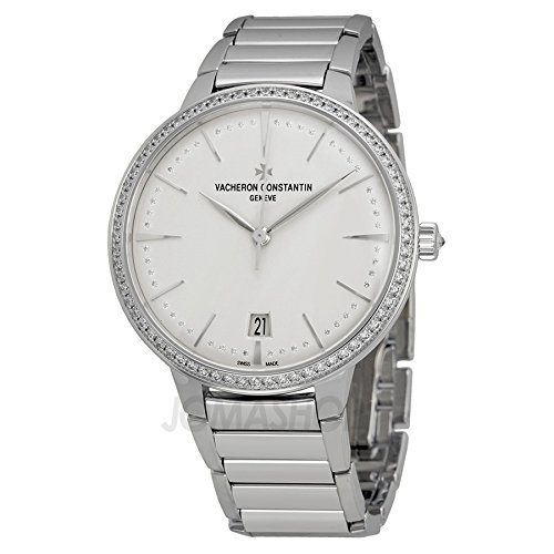 Vacheron Constantin Patrimony Contemporaine Silver Dial White Gold Ladies Watch 85515CA1G-9841 Vacheron Constantin Ladies