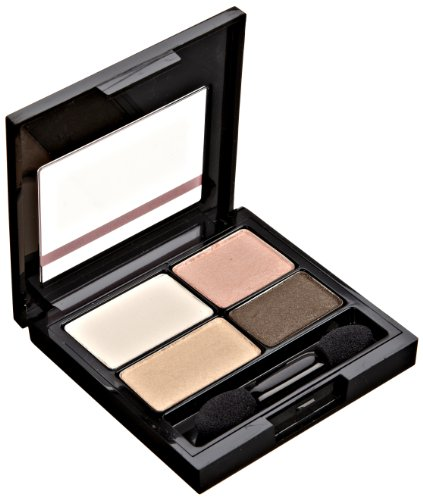 REVLON Colorstay 16 Hour Eye Shadow Quad, Delightful, 0.16 O