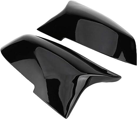 Vgeby1 Rückspiegel Abdeckkappe F30 Spiegelkappen Zwei Typen Option 1 Paar Spiegelkappen Rückspiegel Abdeckkappe Für 220i 328i 420i F20 F21 F22 F30 F32 F33 F36 X1 E84 Glänzend Schwarz Sport Freizeit