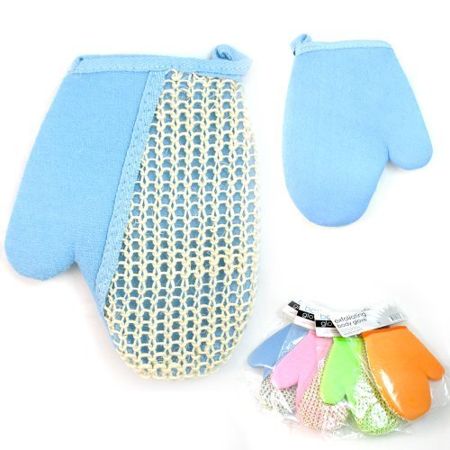 1 Exfoliating Bath Glove Natural Sisal Shower Sponge Cleansing Body Scrubber ! by ATB