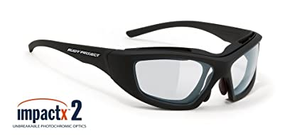ac4a03fb3c Rudy Project Guardyan Matte Black with Impactx-2 Photochromic Clear to Black  Lenses