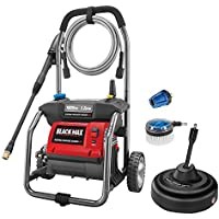 Black Max BM80721SB 1,800 PSI Electric Pressure Washer with Cleaning Kit