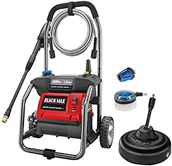 Black Max 1800 PSI Electric Pressure Washer with Cleaning Kit
