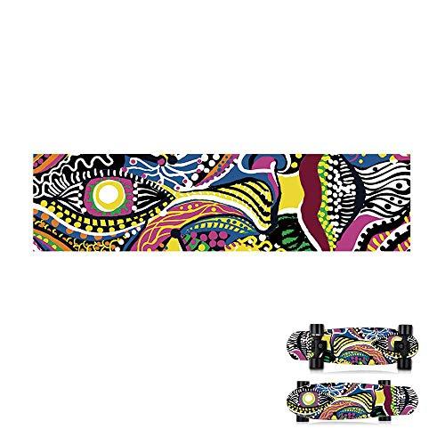 - Aolvo Skateboard Grip Tape Sheet, Mob Griptape Longboard,PVC 33.5 X 8.6 Inch Bubble Free, Waterproof, Non-Slip for Skateboards