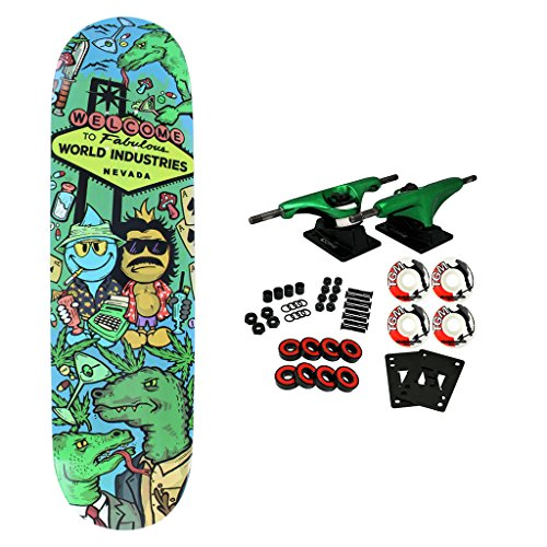 World Industries Skateboard Complete Loathing 8.2