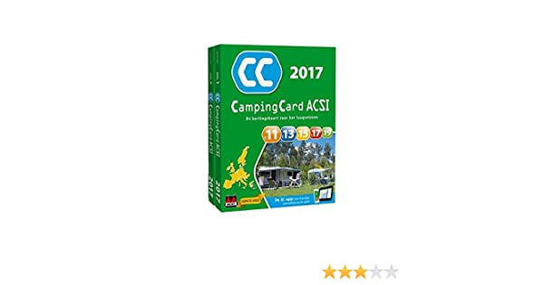 CampingCard ACSI 2017 set 2 dln: Amazon.es: ACSI: Libros en ...