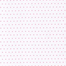 Higgs & Higgs - Tiny Tots - Little Stars - White & Pale Pink - Cotton Fabric Children Nursery quilt