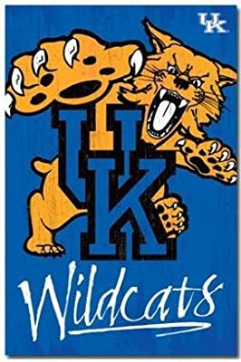 Custom Kentucky Wildcats Classic Bedroom Setting Home Decoration High Quality Poster Prints Size 20x30 inch Wall Sticker C963