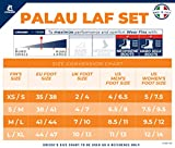 Cressi Palau LAF Set, blue, L/XL