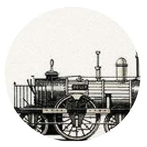 """alfombrilla de ratón Locomotora """"Adler"""" (Alemania, 1835) - ronda - 20cm"""