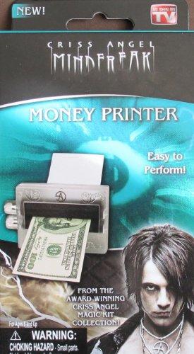Criss Angel MindFreak MONEY PRINTER Magic Trick EASY TO PERFORM From Award Winning Magic Kit! (Winning Award Magic)