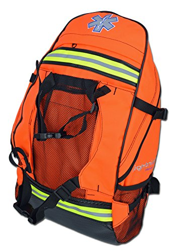 Lightning X EMS Special Events First Aid EMT First Responder Trauma Backpack BLS Bag - FLORESCENT ORANGE
