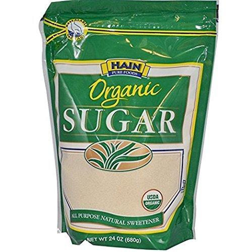 Hain Pure Foods Organic Sugar 24 Oz. Pack Of 3.