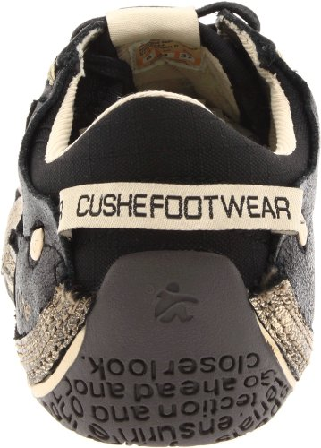 Cushe Dames Boutique Sneak Oxford Zwart / Goud