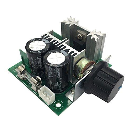 HiLetgo 12V-40V 10A PWM DC Motor Speed Controller CVT Speed Switch Module]()