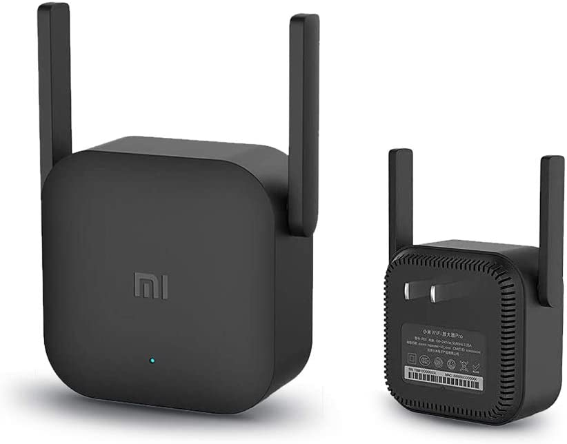 Xiaomi WiFi Amplifier Pro- 2 External Antennas, 300Mbps Data Transfer Rate, Supports 64 Devices, Plug and Play, Router Inalámbrico