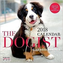 Dogist 2018 Calendar