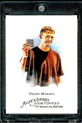 2008 Topps Allen and Ginter #349 Frank Morris SP Short Print (Rubik's Cube Champion) MLB Baseball Card