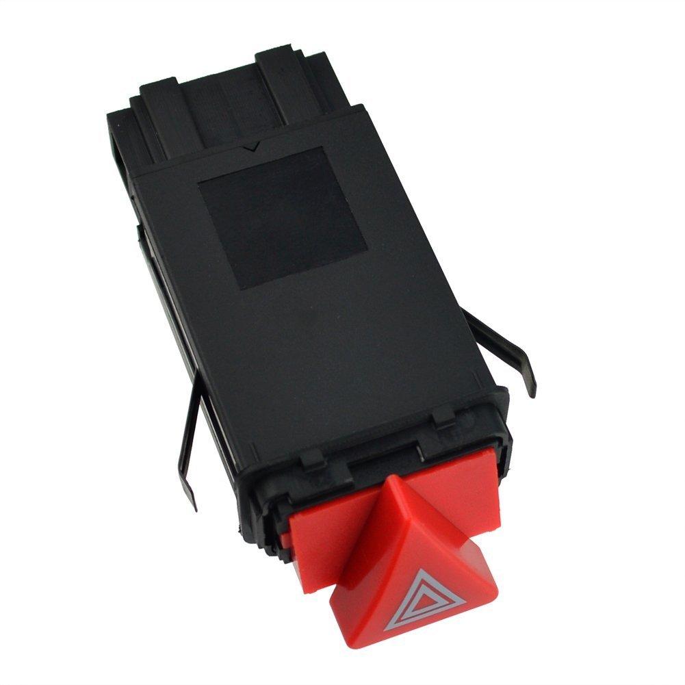 Interruptor boton conmutador para luces de emergencia compatible con 4B0941509D C17172