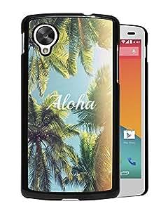 Aloha Palm Trees Durable High Quality Google Nexus 5 Case