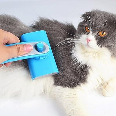 Lxf20 Mascota Cepillo Peines para Gatos, peines para Perros, Accesorios para Perros, peines, Peine para Perros Grandes y Gatos, Peine para pasadores Cepillo ...