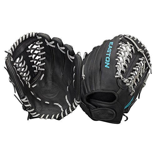 Easton Core Fastpitch Series COREFP1200BKGY Right Hand Throw 12 in Infield/Pitcher (Diamond Fielders Glove)