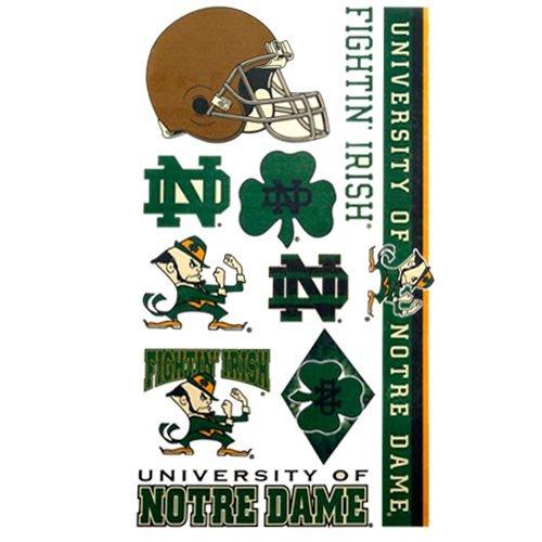 WinCraft NCAA Notre Dame 13881021 Tattoos
