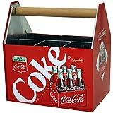 The Tin Box Company 772377-12 Coca Cola Large Galvanized Utensil Holder
