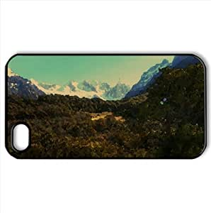 Andes Mountains, Patagonia, Argentina Watercolor style Cover iPhone 4 and 4S Case (Argentina Watercolor style Cover iPhone 4 and 4S Case)