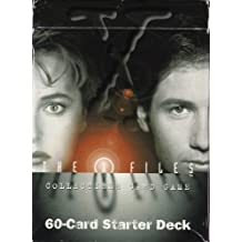 x-files collectible card game 60-card starter deck [Toy] by Yugioh